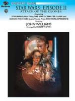 [楽譜] 「スター・ウォーズ・エピソード2:クローンの攻撃」メドレー(同名映画より)《輸入吹奏楽譜》【送料無料】(STAR WARS EPISODE II: ATTACK OF THE CLONES)《輸入楽譜》