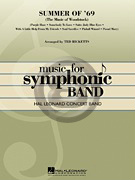 [楽譜] ウッドストック!(ジミヘン、ザ・フー、サンタナ他全7曲メドレー)《輸入吹奏楽譜》【送料無料】(SUMMER OF'69 04002929)《輸入楽譜》
