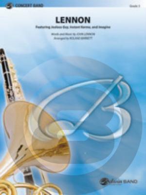 [楽譜] ジョン・レノン(イマジン他3曲メドレー)《輸入吹奏楽譜》【送料無料】(LENNON)《輸入楽譜》