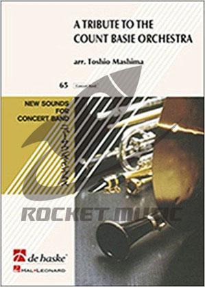 [楽譜] トリビュート・トゥ・カウント・ベイシー オーケストラ【ニュー・サウンズ・イン・ブラス】《輸入吹奏楽譜...【送料無料】(Tribute to the Count Basie Orchestra,A)《輸入楽譜》