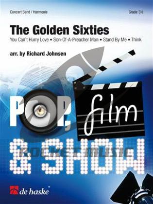 [楽譜] 60年代ヒットメドレー(Stand by Me他4曲)《輸入吹奏楽譜》【送料無料】(The Golden Sixties)《輸入楽譜》