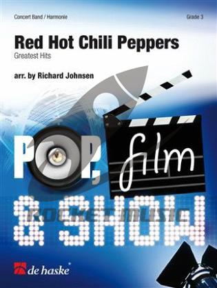 [楽譜] 「レッド・ホット・チリ・ペッパーズ」メドレー《輸入吹奏楽譜》【送料無料】(Red Hot Chili Peppers)《輸入楽譜》