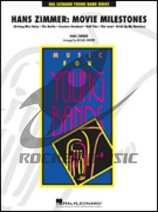 [楽譜] ハンス・ジマー映画6曲メドレー《輸入吹奏楽譜》【送料無料】(Hans Zimmer: Movie Milestones)《輸入楽譜》