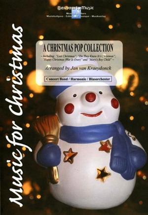 [楽譜] クリスマス・ポップ・コレクション(Last Christmas他全4曲)《輸入吹奏楽譜》【送料無料】(A Christmas Pop Collection)《輸入楽譜》