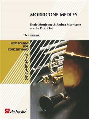 [楽譜] モリコーネ・メドレー【ニュー・サウンズ・イン・ブラス】《輸入吹奏楽譜》【送料無料】(Morricone Medley)《輸入楽譜》