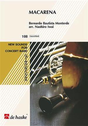 [楽譜] トランペットとバンドのための マカレナ【ニュー・サウンズ・イン・ブラス】《輸入吹奏楽譜》【送料無料】(Macarena)《輸入楽譜》