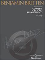 [楽譜] ブリテン/民謡編曲全集(中低声用)【10,000円以上送料無料】(Benjamin Britten - Complete Folksong Arrangements)《輸入楽譜》