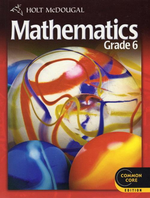 Holt Mcdougal Math Gr. 6 Stud. Text【アメリカの中学校数学教科書】