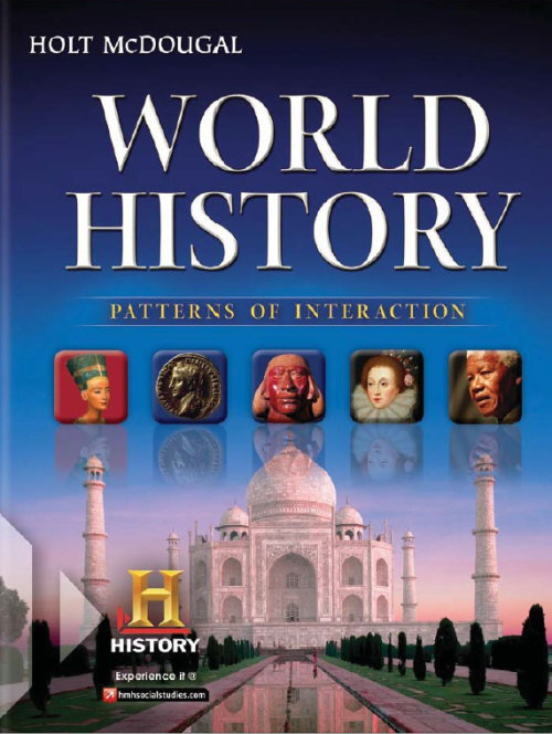 World History Patterns of Interaction Full Servey Gr. 9-12【アメリカの高校世界史教科書】