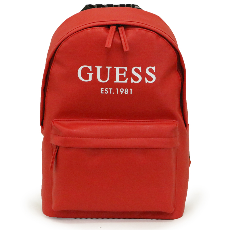 【10%OFF 送料無料】GUESS ゲス OUTFITTER BACKPACK リュック 斜め掛け 肩掛け VY753598RED【 ユニセックス ロゴ リュックサック ハイディーラージ おしゃれ 人気 かばん カバン かわいい 女の子 女性 通勤 通学 旅行 大容量 レッド】