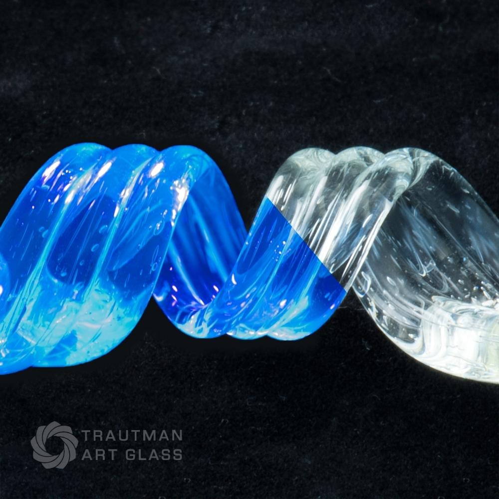 ボロガラス用カラーロッド borosilicate color rod 画像は色のサンプル画像です TAG-064 40g~44.9g G ブルーV 蔵 即日出荷 ガラス棒 1本 ガラス材料 _Blu-V ガラス作家向け ファーストクオリティー Glass Trautman fast Art