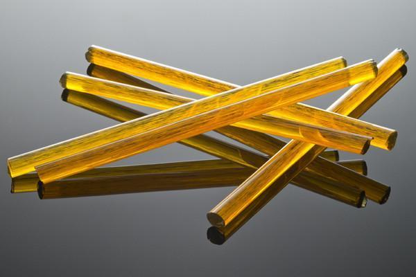 ボロガラス用カラーロッド 舗 borosilicate color rod 画像は色のサンプル画像です GA-2383 35g~39.9g Y パーシモン ストライク ロッド Alchemy Glass 1本 Persimmon 売れ筋 ガラス作家向け ファーストクオリティー ガラス棒 ガラス材料 fast Strike