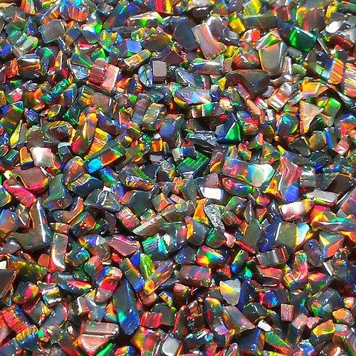 ボロシリケイト用 タンブル 人工オパール ブラック系で綺麗なオパールです オパール 不定形 ディスカウント ☆送料無料☆ 当日発送可能 Mサイズ Black opal 1個 ガラスオパール 人口オパール 耐熱ガラス用 アメリカ製 ブラックオパール
