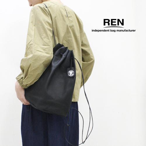 REN【レン】ピッグスキンキャニスターナップサック KT-30311 HALLIE ハリー キャニスターパック