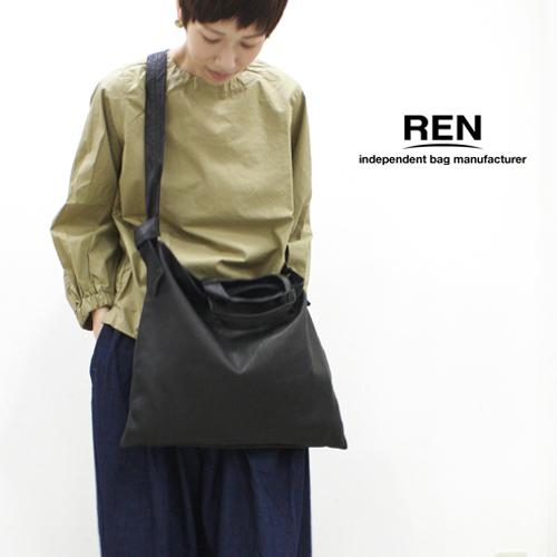 REN 【レン】ゴートレザー2ウェイショルダー/M FU-10952 レディース ベアー 山羊革