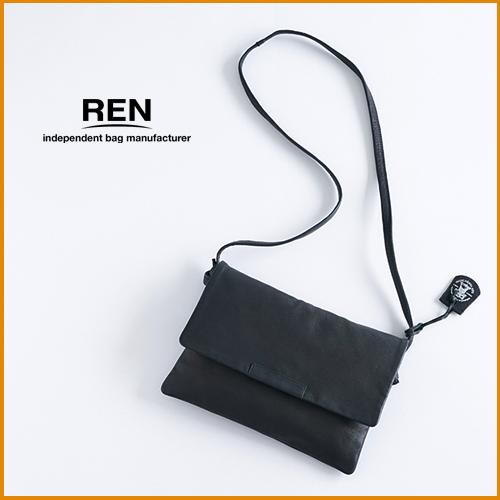 REN【レン】ゴートレザークラッチショルダー/S FU-10981 レディース ベアー 山羊革 クラッチバッグ