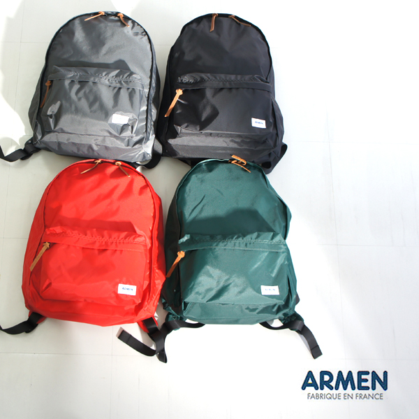 ARMEN【アーメン】NYLON DAY PACK ナイロンデイパック リュックサック バッグ