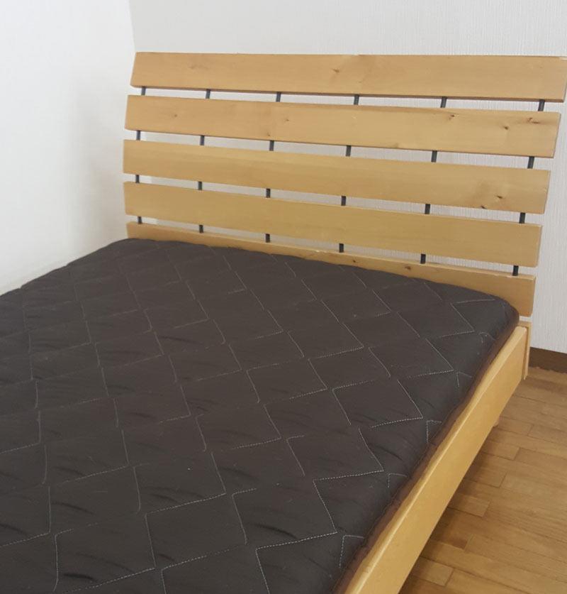 敷き布団 ダブル(140×210cm)わたを使用した軽量敷き布団(デラックス)