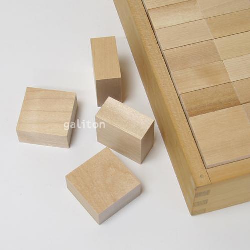 童具館 WAKU-BLOCK45G9 / ワクブロック45G9(正方形板 1/2厚)