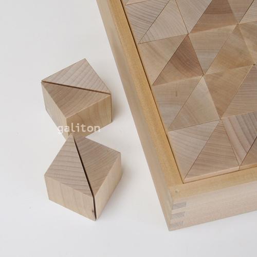 童具館 WAKU-BLOCK45G10 / ワクブロック45G10(直角二等辺三角柱 1/2)