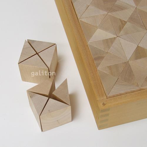 童具館 WAKU-BLOCK45 G11 / ワクブロック45 G11(直角二等辺三角柱 1/4)