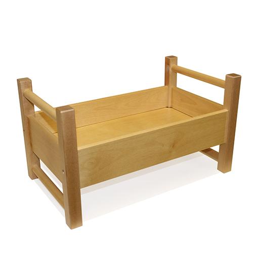 Jussila/ユシラ社 人形用ベッド(小)ナチュラル