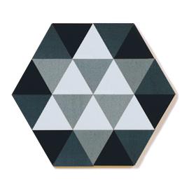 童具館 ケルンモザイク45六角D11(正三角形 無彩色ネオ)