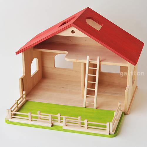 Fairwerk/フェアヴェルク 庭付き人形の家