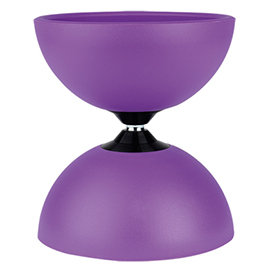 ディアボロ メーカー在庫限り品 高級品 サーカスL ハンドスティック付 紫