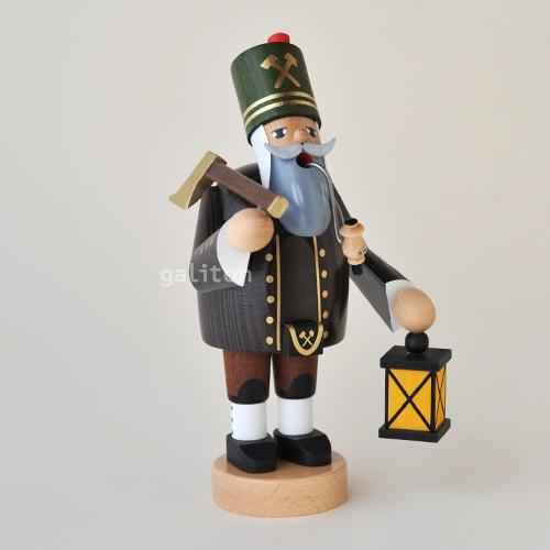 煙出し人形 KWO鉱夫 在庫処分 21182 開店祝い 斧とランタン