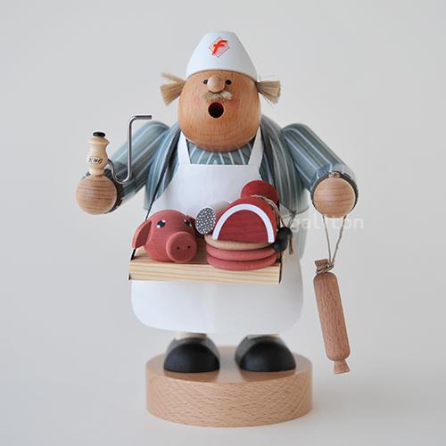 煙出し人形 KWO太っちょ肉屋 21599
