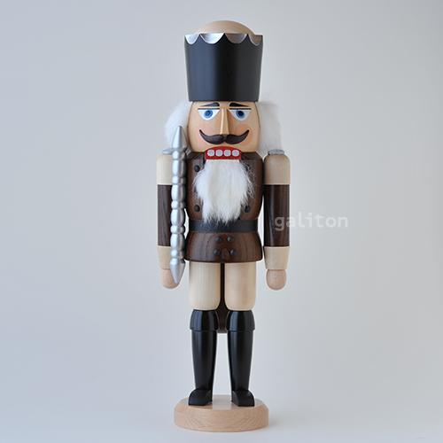 くるみ割り人形 SVK王様 セットアップ 激安価格と即納で通信販売 茶 112116 ナチュラル