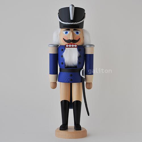 予約販売 くるみ割り人形 SVK軽騎兵 実物 青 ナチュラル 112122