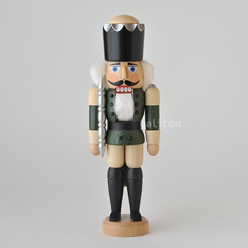 くるみ割り人形 SVK王様(小) 緑/ナチュラル 113114