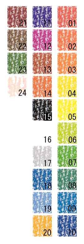 Stockmar/シュトックマー社 蜜ろうクレヨン スティッククレヨン補充用単品 色番号01洋紅色