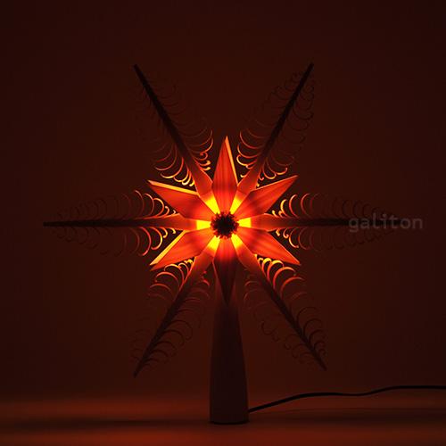 xmas限定販売 大好評です 電球付ツリートップ 28cm 最新アイテム 216016