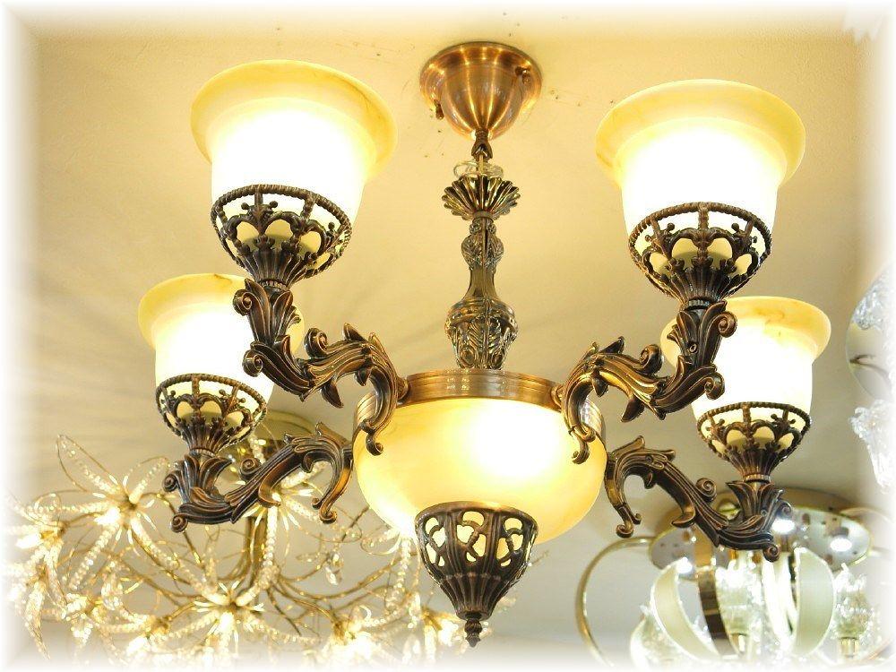 照明 照明器具 シャンデリア LED シーリング おしゃれ【送料無料!】綺麗なLED照明新品 アンティーク調 照明 LEDLED7灯タイプ シーリング照明シャンデリア 照明 照明器具LED シーリング ライト 豪華 家電 おしゃれ アンティーク
