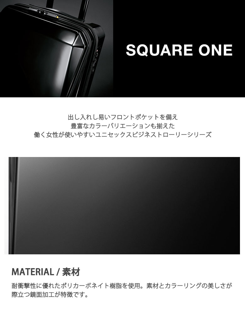 25fa0186f Product Information. See the original Japanese page. ACEGENE assign  suitcase square one carry case business