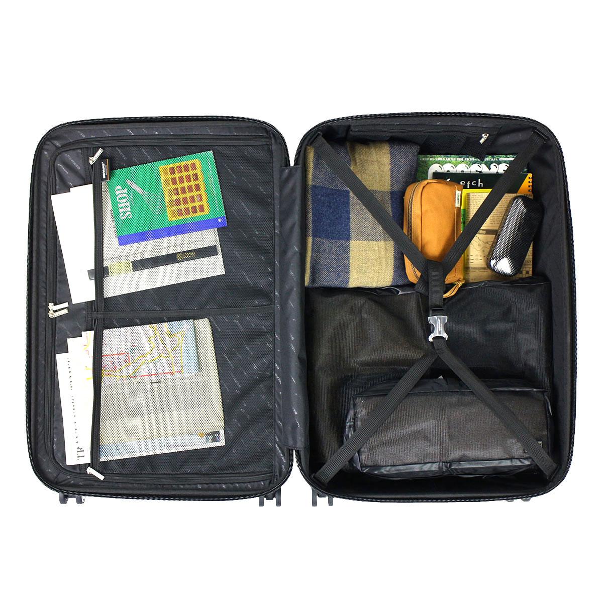 巴茅斯手提箱 BERMAS 巴茅斯手提箱威望 2 威望 II 进行案例拉链 83 L 大 L 大小 TSA 锁 7-10 天晚上大约 4 轮硬轻旅游袋旅行袋 60264