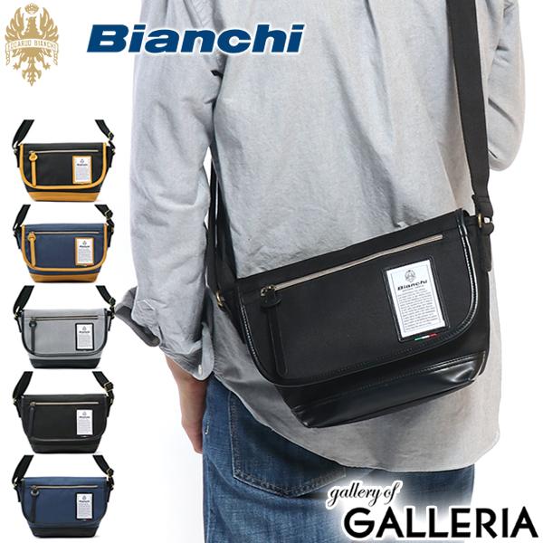 【カードで最大31倍 | 12/25限定】 ビアンキ メッセンジャーバッグ Bianchi ショルダーバッグ 斜めがけ バッグ 小さめ ミニショルダー DIBASE メンズ レディース NBTC-35