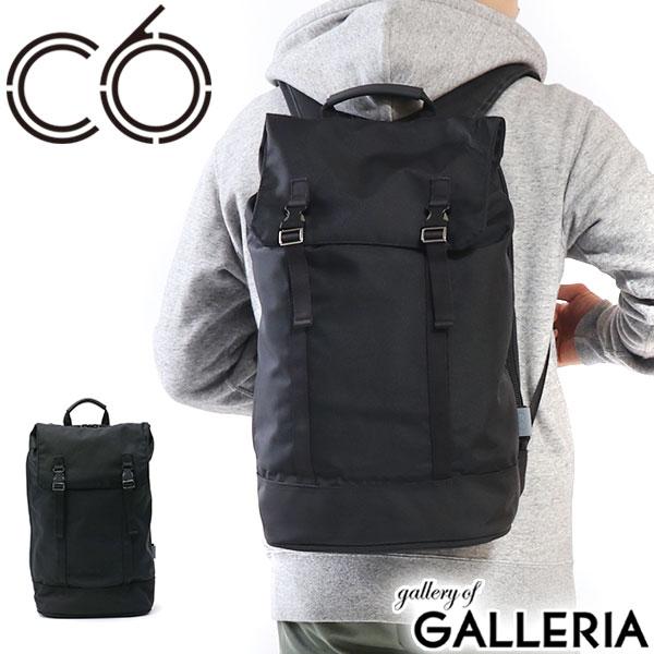 【日本正規品】C6 リュック シーシックス DURABLE NYLON Chrysalis Backpack バッグ バックパック リュックサック 2層式 A4 PC収納 ビジカジ ビジネスカジュアル 通勤 通学 ナイロン メンズ レディース【ラッキーシール対応】