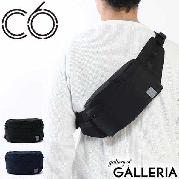 C6 N C Helix Waist Bag Pouch Diagonal Small Nylon Men Women