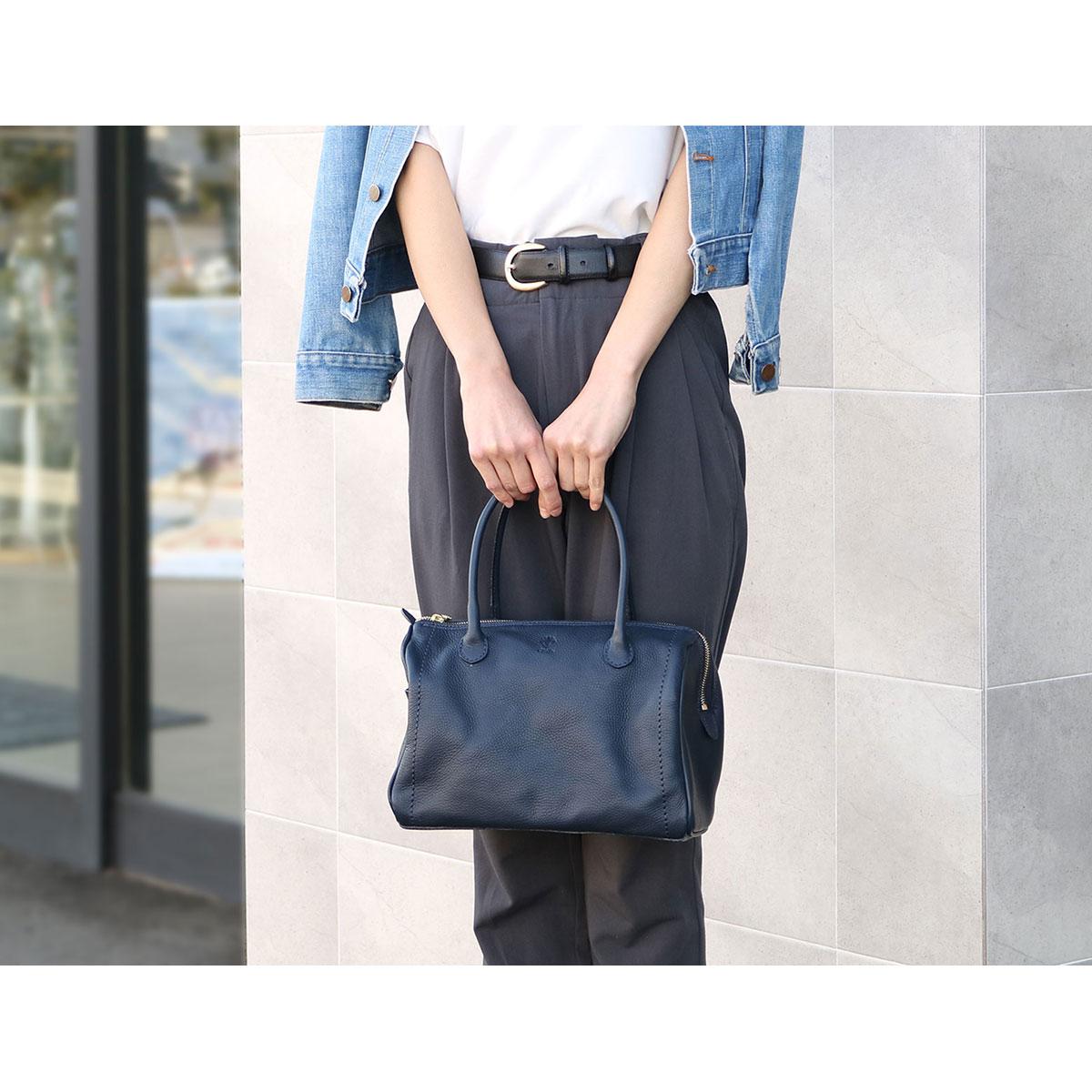 CI-VA handbag VOLANATO CIVA Lady's mini-Boston 1968VOLA