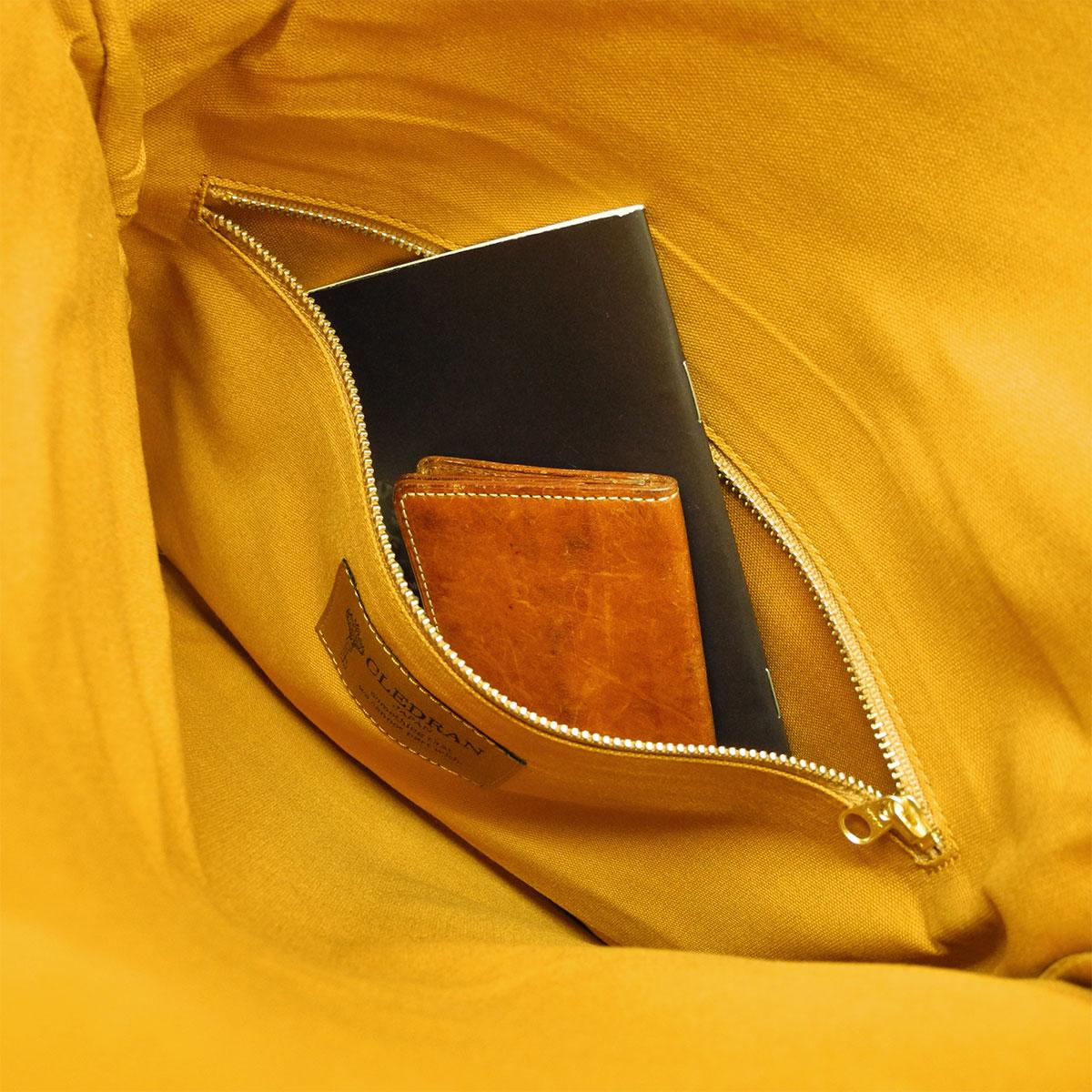 信条运行 CLEDRAN 包德图离合器袋男装女装皮革袋皮革 CL-2161