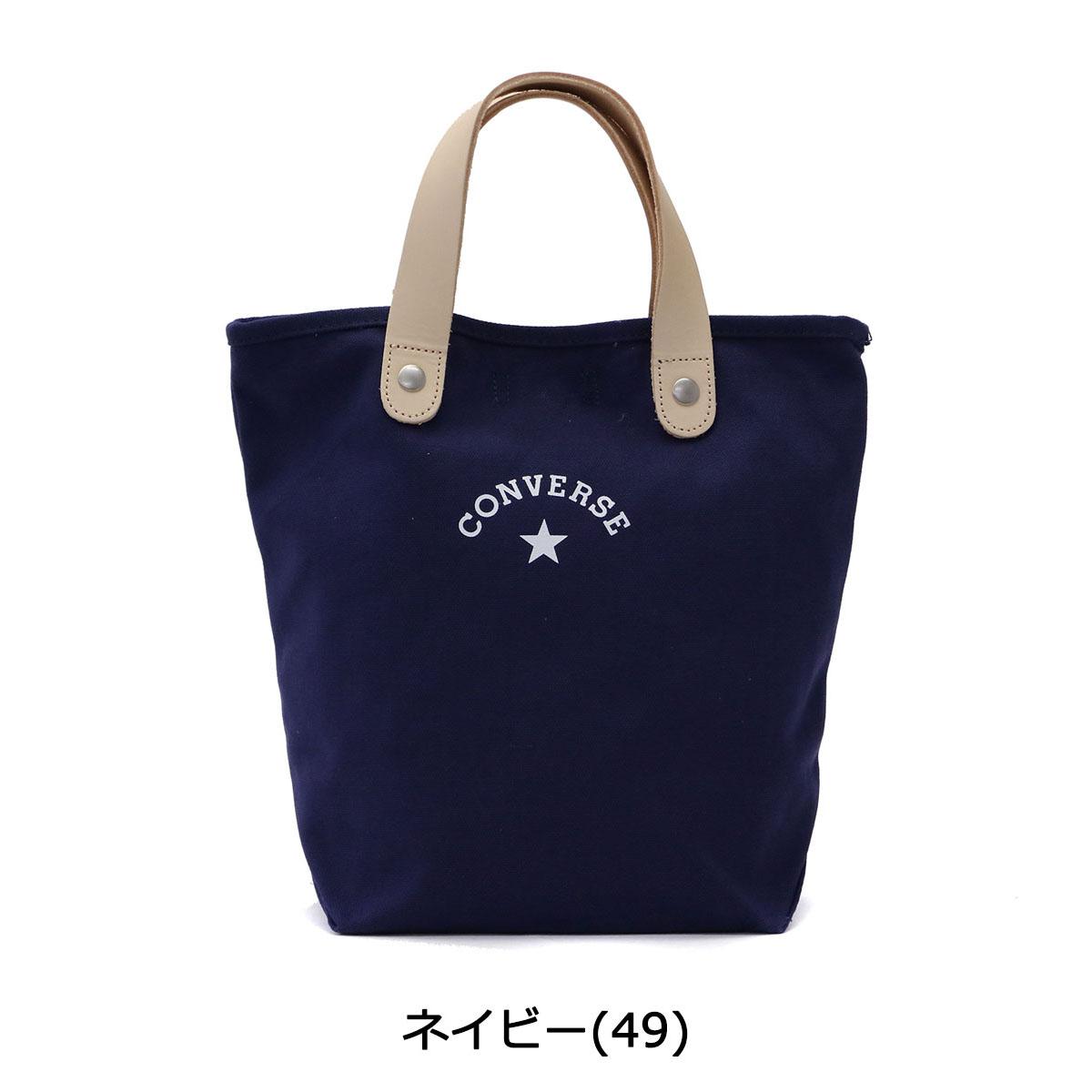 Converse Tote Bag CONVERSE CANVAS LEATHER TOTE BAG Tote Bag Women s Small  14478400 ccb43eb4d8ae7