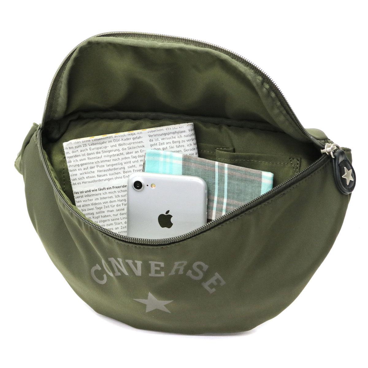 Converse Body Bag CONVERSE Classic Body Shoulder Classic Body Shoulder  Waist Bag One Shoulder Diagonal Lightweight Light Men s Women s 17946300 a3d90adcef