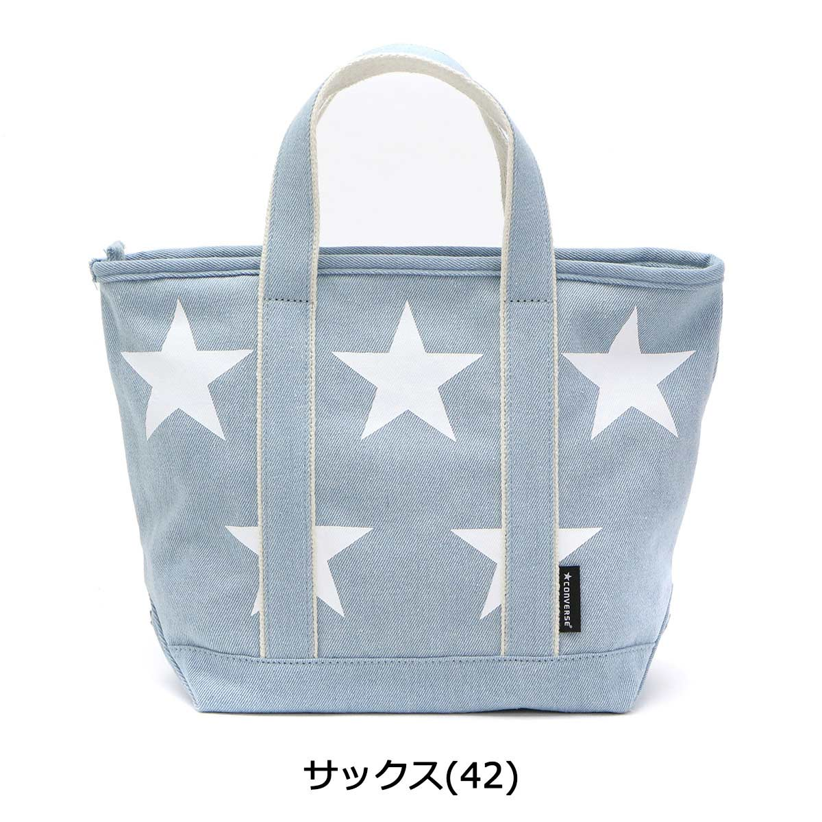 7b42834037f7 Converse Tote Bag CONVERSE S size STAR Print Chemical Tote Bag Star Print  Chemical Tote Bag Ladies Mini Tote Bag 17948700