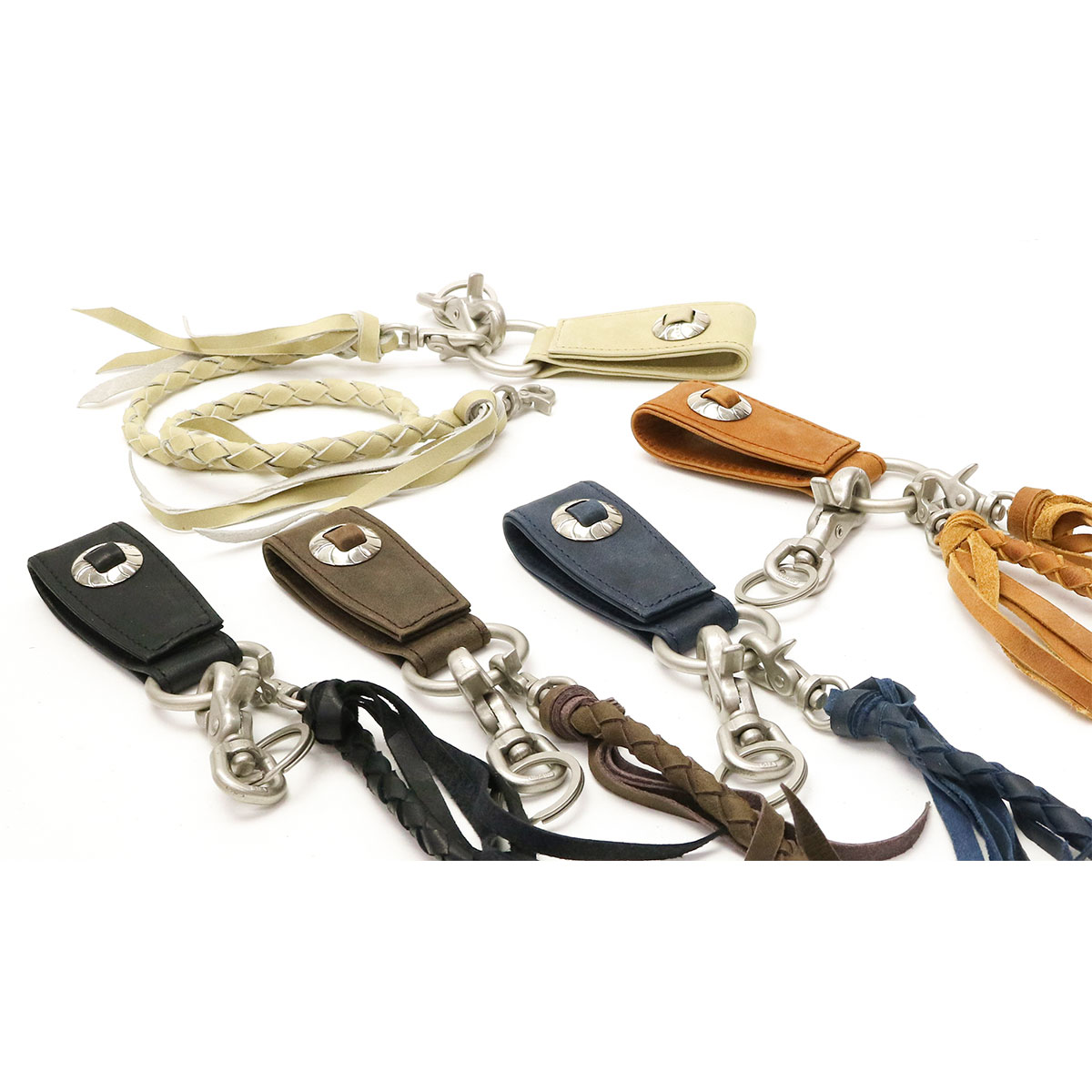 Corbo. CORBO Wallet Chain Wallet Cord CLAY Works Horse Horse Leather 8JF-9357