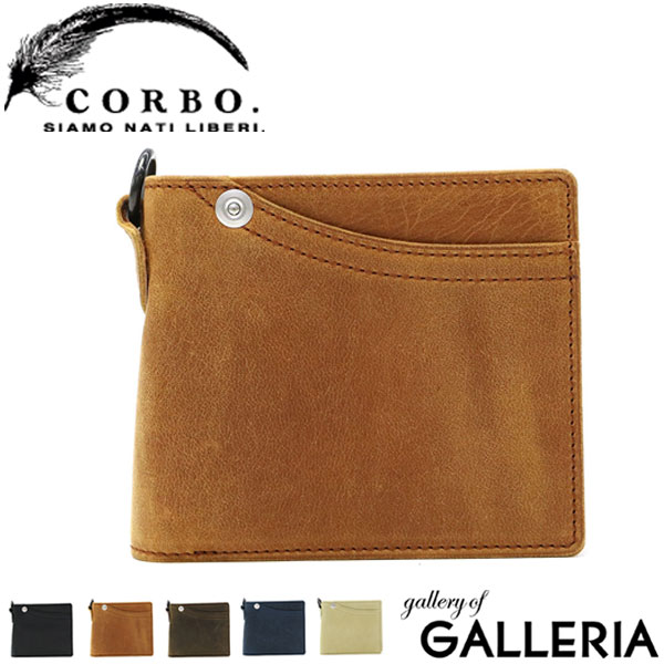 【エントリーで11倍★Rカードで13倍 5/2限定】もれなく選べるWノベルティ★コルボ CORBO 財布 コルボ 財布 二つ折り財布 メンズ 革 corbo. CLAY works HORSE 8JF-9977