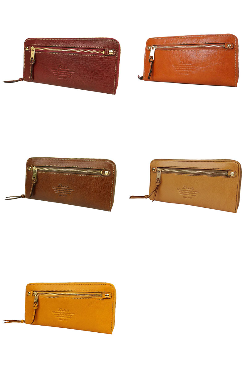 Dakota Moderno long wallet round fastener Lady's 0034088